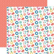 Fabulous Floaties Paper - Dive Into Summer - Echo Park