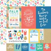 Multi Journaling Cards Paper - Dive Into Summer - Echo Park