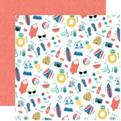 Pool Time Paper - Dive Into Summer - Echo Park - PRE ORDER