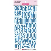 Blueberry Aria Alpha Puffy Stickers - PRE ORDER