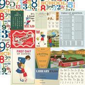Multi Journaling Cards Paper - School Days - Carta Bella - PRE ORDER