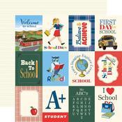 "Journaling 3""X4"" Cards Paper - School Days - Carta Bella - PRE ORDER"