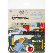 School Days Ephemera Icons - Carta Bella - PRE ORDER