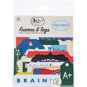 School Days Frames & Tags Ephemera - Carta Bella - PRE ORDER