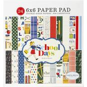 "School Days 6""X6"" Paper Pad - Carta Bella - PRE ORDER"