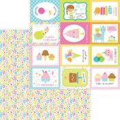 Birthday Bash Paper - Hey Cupcake - Doodlebug