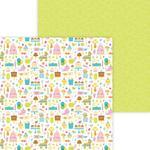 Birthday Girl Paper - Hey Cupcake - Doodlebug