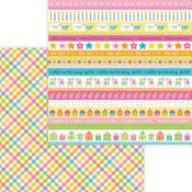 Party Girl Paper - Hey Cupcake - Doodlebug