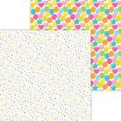 Funfetti Paper - Hey Cupcake - Doodlebug