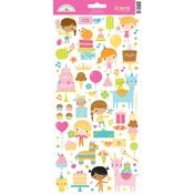 Hey Cupcake Icon Stickers - Hey Cupcake - Doodlebug