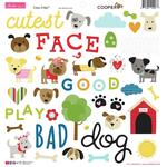 Cooper Icons Chipboard Stickers - Bella Blvd
