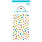 Sprinkles Enamel Shapes - Hey Cupcake - Doodlebug