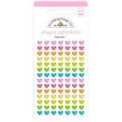 Heart-Fetti Sprinkles Enamel Shapes - Hey Cupcake - Doodlebug