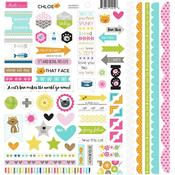 Chloe Doohickey Sticker Sheet - Bella Blvd