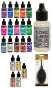 Tim Holtz MEGA Bundle - Alcohol Ink - Alloys - Solution - Blower - PRE ORDER
