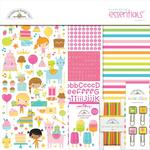 Hey Cupcake Essentials Page Kit - Doodlebug