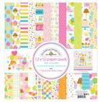 Hey Cupcake Paper Pack - Doodlebug