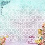 Alice In Wonderland Paper - Alice's Tea Party - Memory-Place