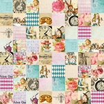 Pieced Of Wonderland Paper - Alice's Tea Party - Memory-Place
