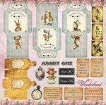 Mad Hatter's Tea Party Paper - Alice's Tea Party - Memory-Place