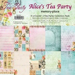 Alice's Tea Party 6 x 6 Collection Pack - Memory-Place