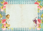 Alice's Tea Party #2 A4 Paper - Memory-Place - PRE ORDER
