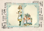 Alice's Tea Party #4 A4 Paper - Memory-Place - PRE ORDER