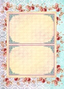 Alice's Tea Party #5 A4 Paper - Memory-Place - PRE ORDER