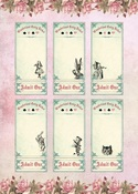 Alice's Tea Party #6 A4 Paper - Memory-Place - PRE ORDER