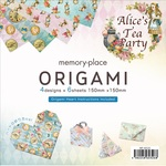 Alice's Tea Party Origami Papers - Memory-Place