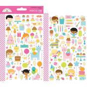 Hey Cupcake Icons Mini Stickers - Doodlebug