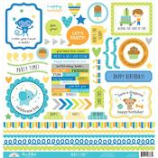 Party Time This & That Stickers - Doodlebug - PRE ORDER