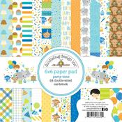 Party Time Doodlebug 6 x 6 Paper Pad - PRE ORDER