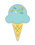 Sugar Cone Doodlebug Collectible Enamel Pin