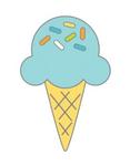 Sugar Cone Doodlebug Collectible Enamel Pin