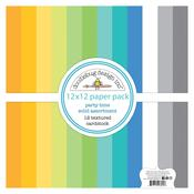 Party Time Doodlebug Textured Double-Sided Cardstock - PRE ORDER