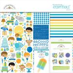 Party Time Doodlebug Essentials Page Kit