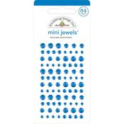 Blue Jean Adhesive Mini Jewels - Doodlebug