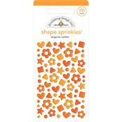 Tangerine Confetti Sprinkles - Doodlebug