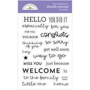 All Occasions Stamps - Doodlebug - PRE ORDER