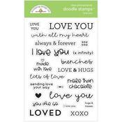 Love You Stamps - Doodlebug - PRE ORDER