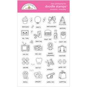 Occasions - Everyday Stamps - Doodlebug - PRE ORDER