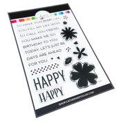 So Happy Sentiments Stamp Set - Catherine Pooler