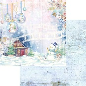 Let's Build A Snowman Paper - Winter Wonderland - Asuka Studio - PRE ORDER