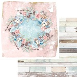 Vintage Wreath Paper - Winter Wonderland - Asuka Studio - PRE ORDER