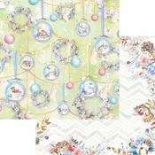 Snow Globe Paper - Winter Wonderland - Asuka Studio
