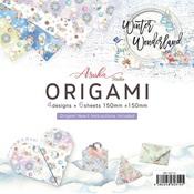 Winter Wonderland Origami Paper - Asuka Studio - PRE ORDER