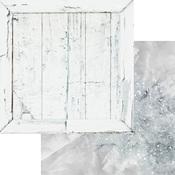 Grey Quartz Paper - Weathered Wood & Crystals - Asuka Studio - PRE ORDER