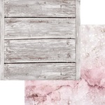 Rose Quartz Paper - Weathered Wood & Crystals - Asuka Studio