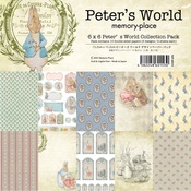 Peter's World 6 x 6 Paper Pack - Memory-Place - PRE ORDER